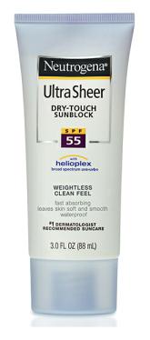 neutrogena dry-touch
