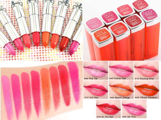 Maybelline Color Sensational Vivids Lipcolor