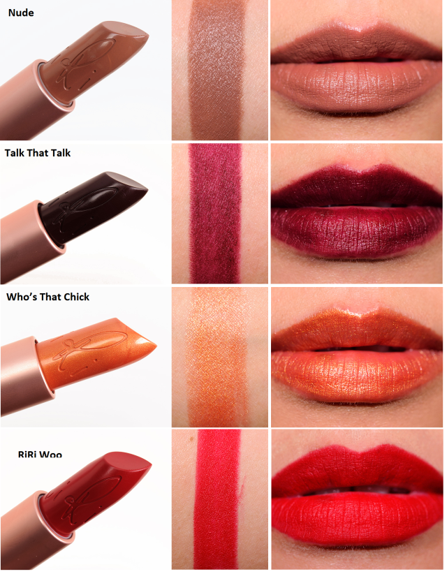 RiRi Hearts MAC Lipsticks